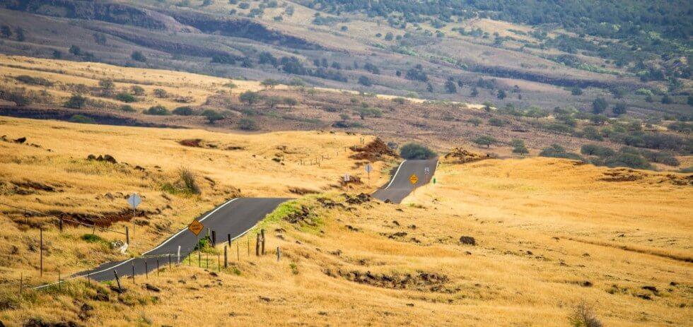 Maui Road After Hana